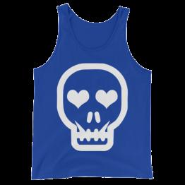 Skull Love Unisex Tank Top