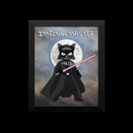 Imeowr Master Framed photo paper poster
