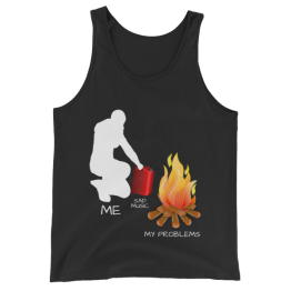 Me, Sad Music and My Problems Unisex Tank Top