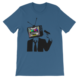 TV Guy Unisex Jersey T-Shirt