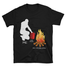Me, Sad Music and My Problems Softstyle Unisex T-Shirt