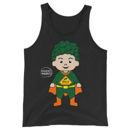 Super Vegan Unisex Tank Top