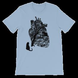 Cat's Heart Unisex Jersey T-Shirt