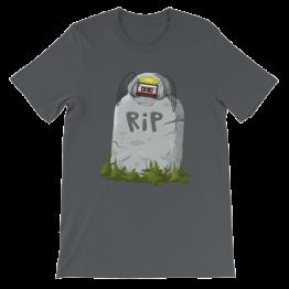 RIP Cassette Unisex Jersey T-Shirt