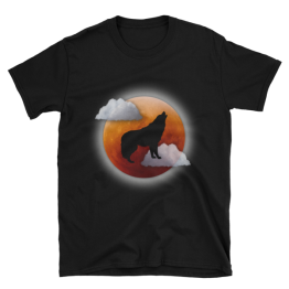 Howling At The Moon Unisex Softstyle T-Shirt