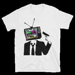 TV Guy Unisex Softstyle T-Shirt