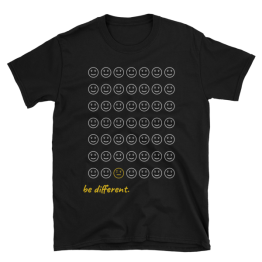 Be Different Unisex Softstyle T-Shirt