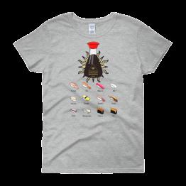 In Sushi We Trust Women's Classic Fit T-shirt