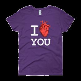I Heart You Women's Classic Fit T-shirt