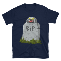 RIP Cassette Unisex Softstyle T-Shirt
