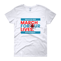 March For Our Lives Women's short sleeve t-shirt