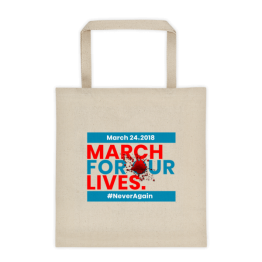 March For Our Lives Tote bag